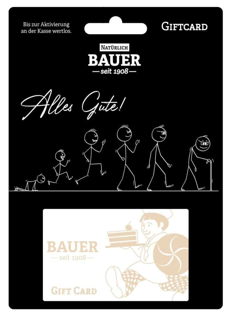 """Gift Card """"Alle Gute"""""""